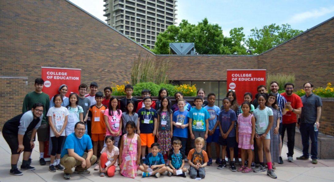 ETL, College of Education, UIC, STEM Summer Camp
