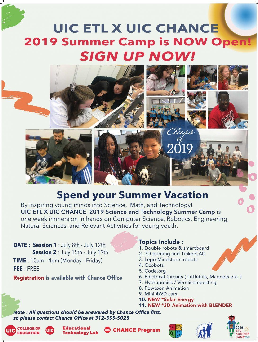 ETL Summer Camp 2019